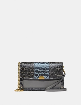 Coach Dreamer Convertible Crossbody In Colorblock Snakeskin