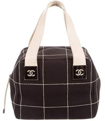 Chanel Square Quilt Handle Bag