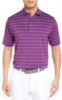 Bobby Jones Men's 'Xh20 Momentum' Stripe Jersey Polo