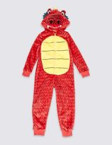 Marks and Spencer Dragon Onesie (1-8 Years)