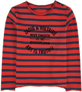 Zadig & Voltaire Mini Me striped T-shirt