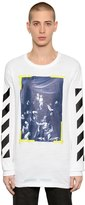 Off-White Off White Caravaggio Oversized Jersey T-Shirt