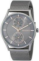 Skagen Men's SKW6180 Holst Grey Mesh Watch