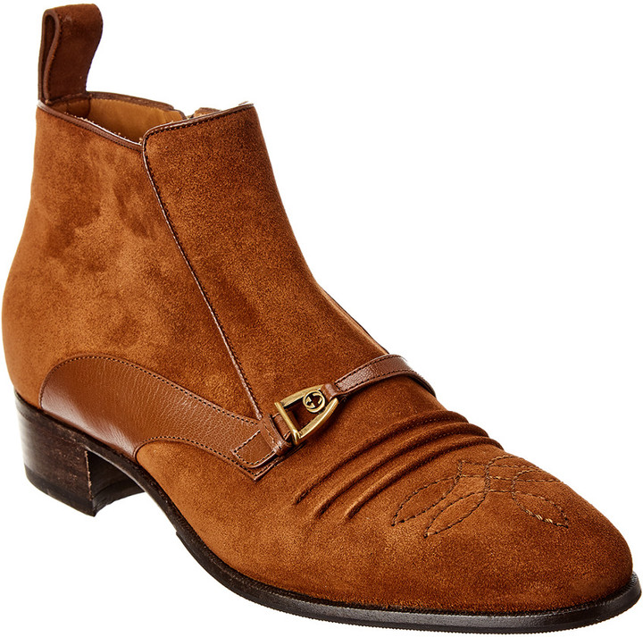 Gucci Men's Boots on Sale with Cash