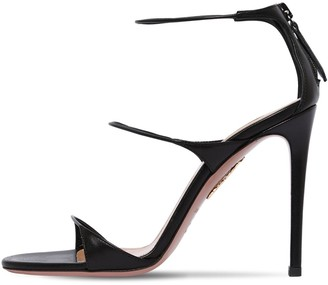 Aquazzura 105mm Minute Leather Sandals
