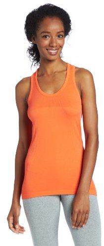 Jockey Women's Solid Relaxed Fit Seamless Work Out Tank