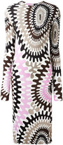 Emilio Pucci longsleeved printed dress