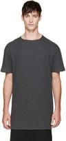 Thamanyah Grey Brushed Cotton T-shirt
