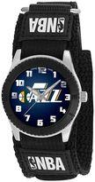 Game Time Rookie Series Utah Jazz Silver Tone Watch - NBA-ROB-UTA - Kids