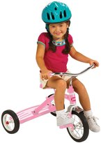 Radio Flyer Classic Pink 10 inch tricycle with Push Handle