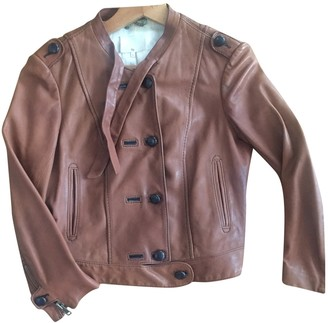 3.1 Phillip Lim Brown Leather Leather Jacket for Women