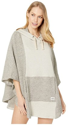 Roxy Summer Surf Beach Poncho (Snow White) Women's Clothing