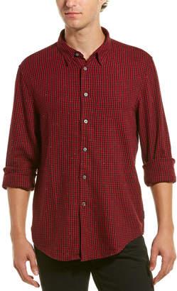 John Varvatos Check Woven Shirt