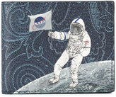Etro astronaut print wallet