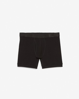Express Black Metallic Waistband Boxer Briefs