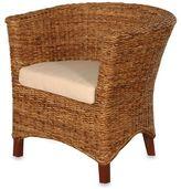 Jeffan International U-Chair Abaca Small Astor with Cushion