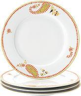 Rachael Ray Set of 4 Paisley Dinner Plates