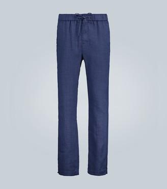 Frescobol Carioca Straight-leg linen pants