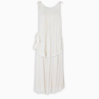 Prada Ivory toile dress