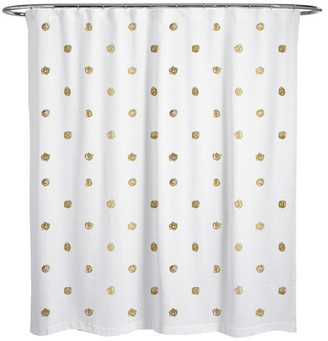 """Oliver Gal I See Polka Dots"""" Shower Curtain, 71""""x74"""""""