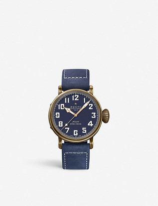 Zenith 29.2430.679/21.C753 Pilot Type 20 Extra Special bronze and leather automatic watch