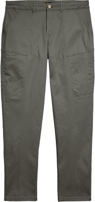 Wit & Wisdom Flex-ellent High Waist Stretch Cotton Cargo Pants