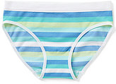 Copper Key Big Girls 7-16 Striped Seamless Hipster Panties