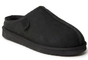 Dearfoams Fireside by Men's Grafton Clog Slippers Men's Shoes