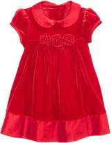 Bonnie Baby Velvet Empire-Waist Dress, Baby Girls (0-24 months)