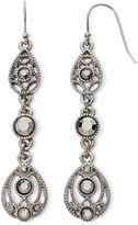 Liz Claiborne Marcasite Linear Earrings