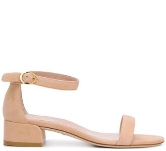 Stuart Weitzman Nudist June block-heel sandals