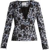 Erdem May floral-jacquard jacket