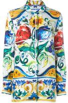 Dolce & Gabbana Majolica printed shirt