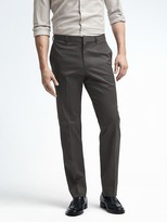 Banana Republic Standard Non Iron Charcoal Pant