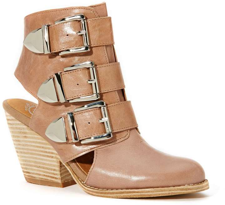Jeffrey Campbell Coburn Ankle Boot - Taupe