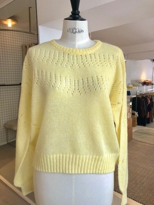 Just Female Vilde Knit - yellow | XS . - Yellow/Beige/Yellow