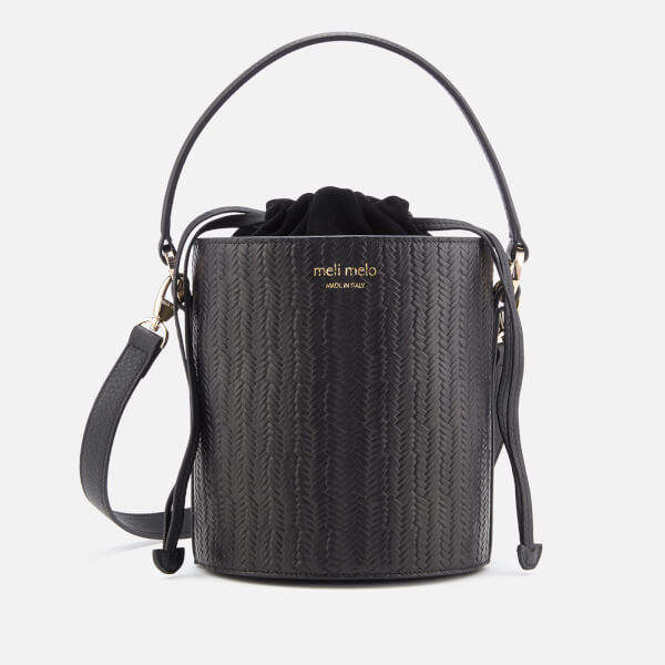 Meli-Melo Women's Santina Mini Woven Bag - Black