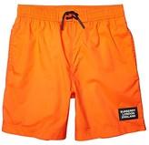 Burberry Kameron Plain Swim Shorts (Little Kids/Big Kids) (Vermillion Red) Boy's Swimwear