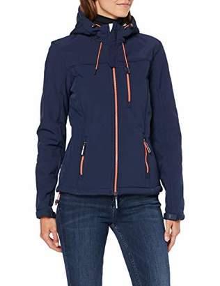 Superdry Women's Winter Hooded Windtrekker Jacket,10 (Size: Small)