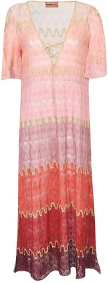 Missoni Copricostume Short-sleeve Dress