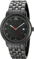 88 Rue du Rhone Men's 87WA120038 Analog Display Swiss Quartz Black Watch
