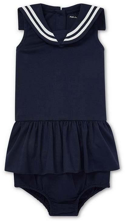 247f3d79 Girls' Sailor Dress & Bloomers Set - Baby