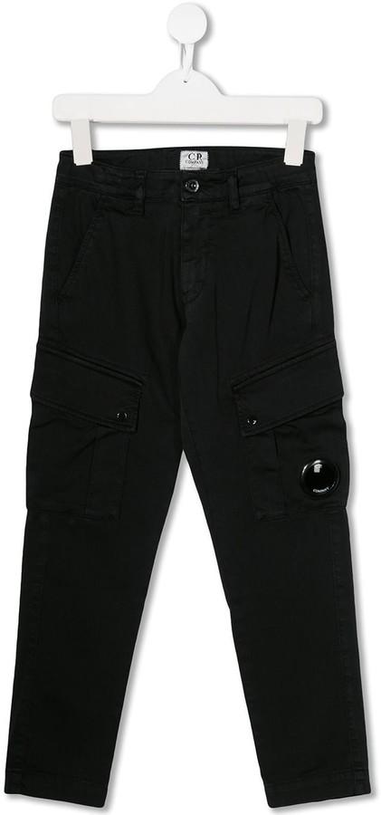 C.P. Company Kids straight leg cargo pants