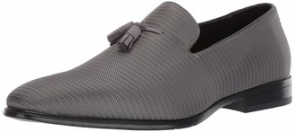 Stacy Adams Men's Tazewell Loafer Gray 10 W US