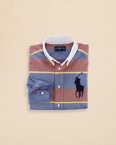 Ralph Lauren Boys' Stripe Oxford Shirt - Sizes 2-7