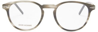 Dior Homme Sunglasses - Technicity Round Acetate Glasses - Grey