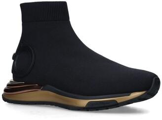 Salvatore Ferragamo Gardena Slip-On Sneakers