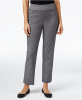 Alfred Dunner Petite Theater District Straight-Leg Pants