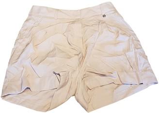 Liu Jo Liu.jo Beige Cotton Shorts for Women