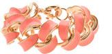 J.Crew Enamel braid bracelet